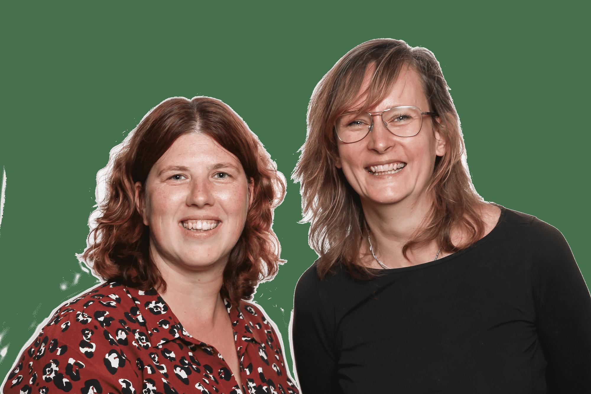 Sara en Judith eigenaren Emotie-etendebaas.nl